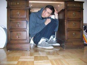 Under desk