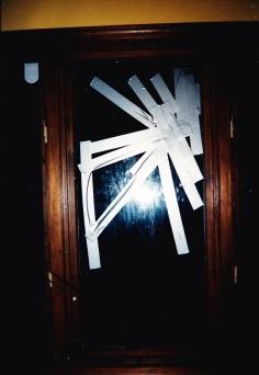 Duct tape window