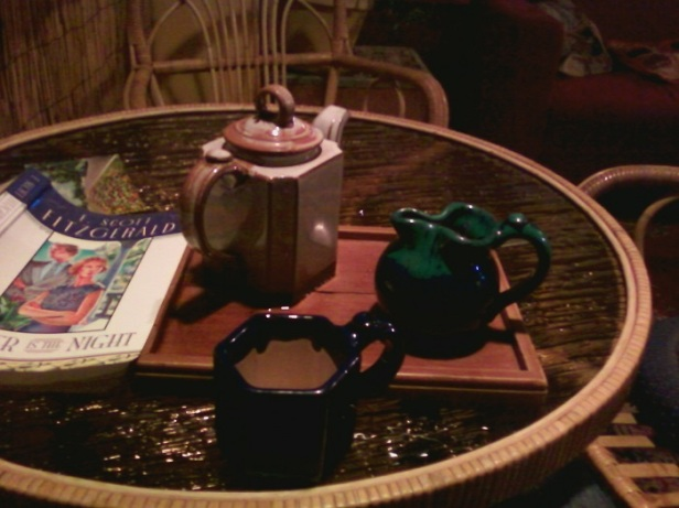 Tea and tender is the night