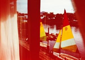 Fading boats