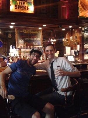 A gin rickey at the owl bar