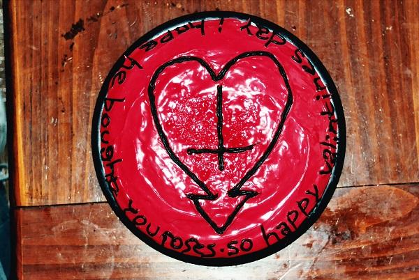 Alkaline Trio Valentine's day cake