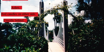 Fancy bridge at a Florida resort