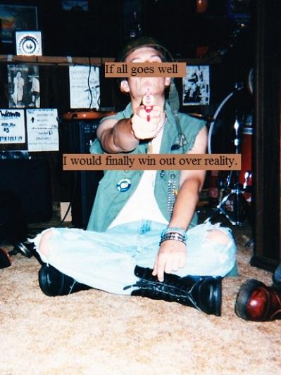 Trigger-happy young punk