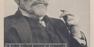 Photo of Joseph Conrad from 1916