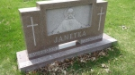 Janetka headstone at the cemetary