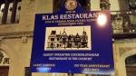 Historic sign outside of Klas