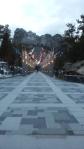 Walk to Mt. Rushmore