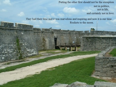 Fort in St. Augustine, FL