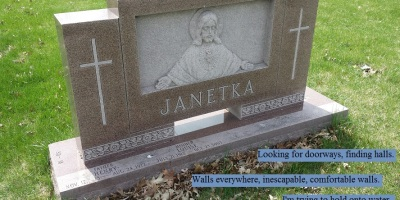 Grave of Henry and Louise Janetka