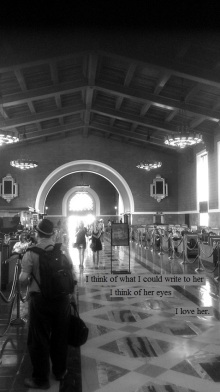 Time traveling in train stations