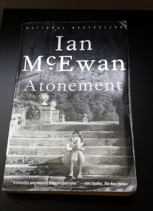 Cover of Ian McEwan's novel Atonement