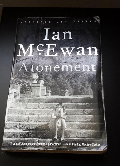 Cover of Ian McEwan's novel Atonement