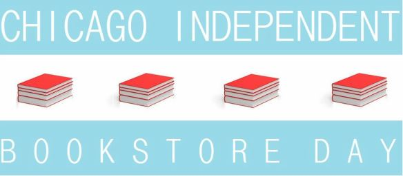Chicago independent bookstore Day logo