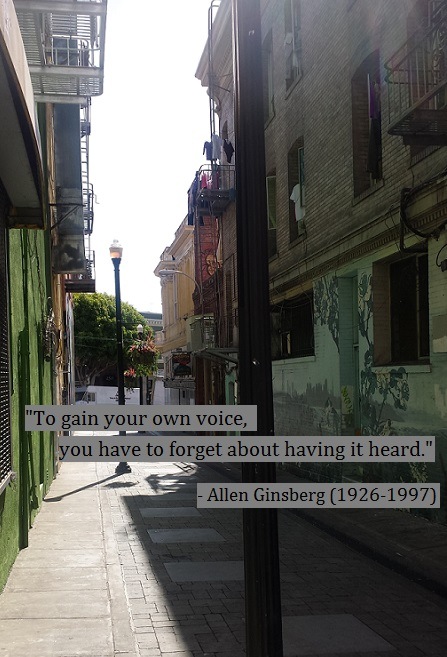 Jack Kerouac Alley in San Francisco, 2014