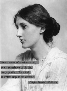 Virginia Woolf on writing