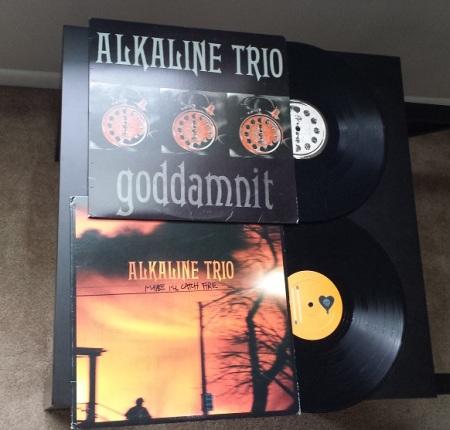 Alkaline Trio records