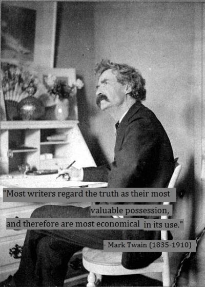 Mark Twain on writing