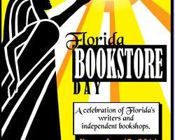 Poster for Florida bookstore day
