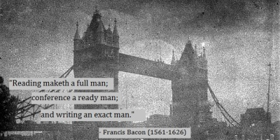 Francis Bacon quote on writing
