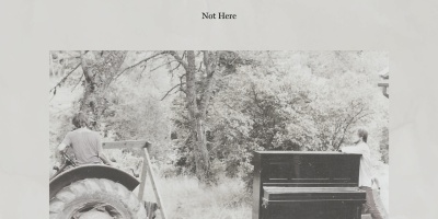 "Cover art for Tired Tape Machine's album ""Not Here"""