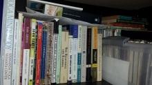 My fiction shelf