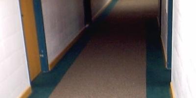 AU Hallway that led to her
