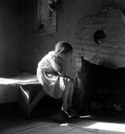 Unsettled Resettled farm child