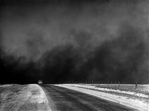 Dust bowl, Texas