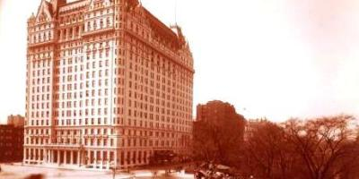 The Plaza Hotel in New York City during the 1920s