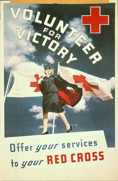 WW II Red Cross Poster