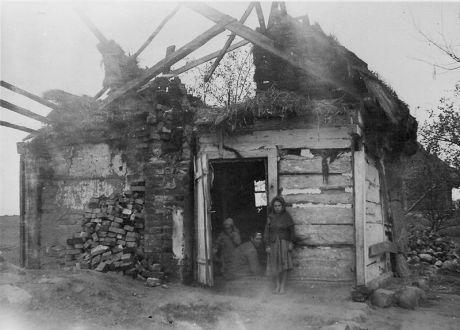 Farmhouse destroyed in World War II