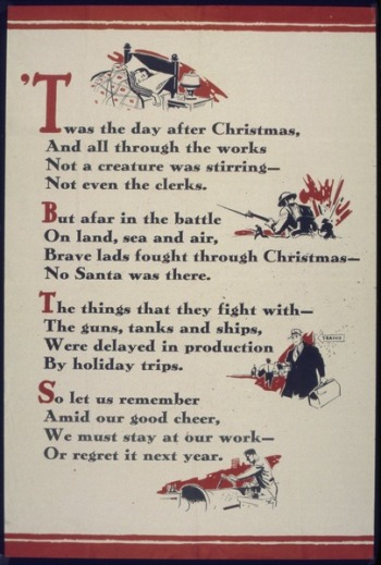 Day after Christmas Poem - World War II