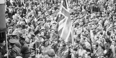 VE Day Celebration in London
