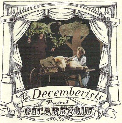 The Decemberists 2005 album cover Picaresque