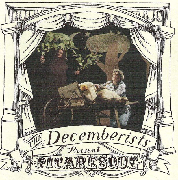 The Decemberists 2005 album cover Picaresque