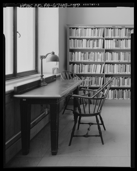 Library table and chairs