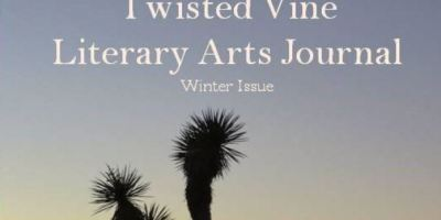 Winter 2016 cover of Twisted Vine Literary Arts Journal