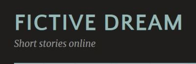 Fictive Dream website header