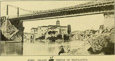 Rome: Island of Temple of Esculapius