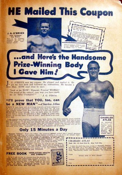 Charles Atlas advertisement
