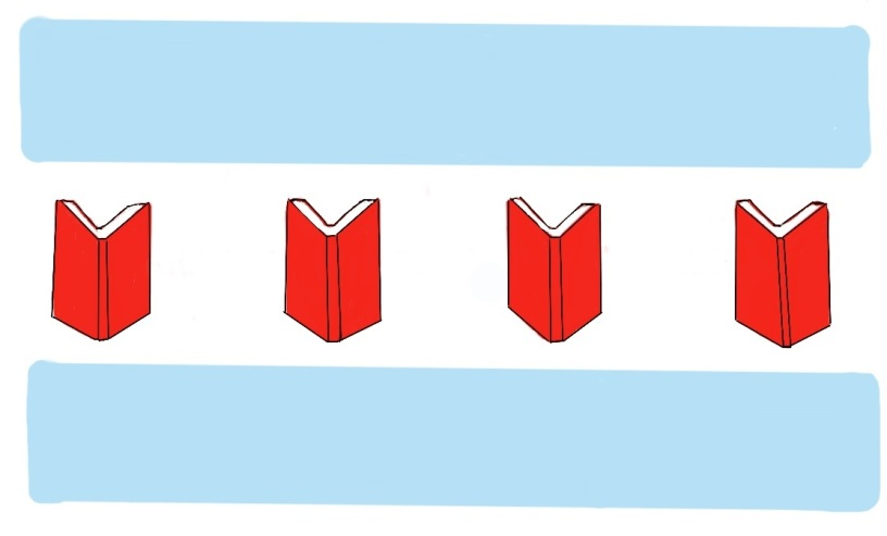 Literary Chicagoland Flag Logo