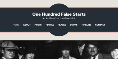 100 False Starts homepage