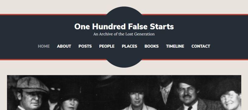 100 False Starts homepage